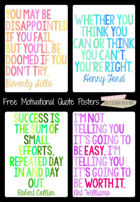 printable posters online motivational quotes for state testing free posters