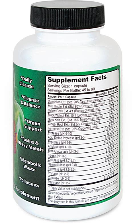 Allegany Nutrition Daily Detox by Daily Detox Allegany Nutrition