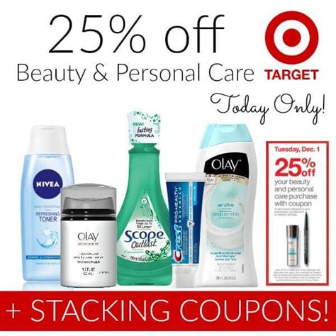 Big Savings At Beautycom Today Only by Target Coupon For 25 Today Only