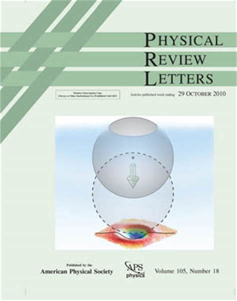 physical review letters zhang lab 1539
