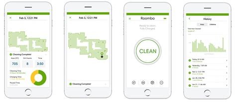 roomba room mapping now roombas check in with clean map reports to your phone