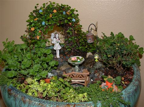 the fairy gardens from the great annual miniature garden