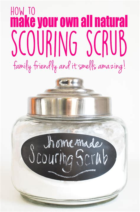 Made About You Scrub diy all scouring scrub