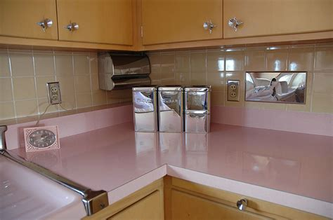 pink kitchens this 50 year kitchen hasn t been touched since the 1950s