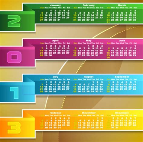 free calendar design html new year 2013 calander templates 40 free and premium