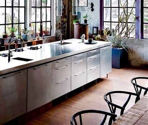 roestvrijstalen keuken 25 geweldige idee 235 n over rvs keuken op pinterest rvs