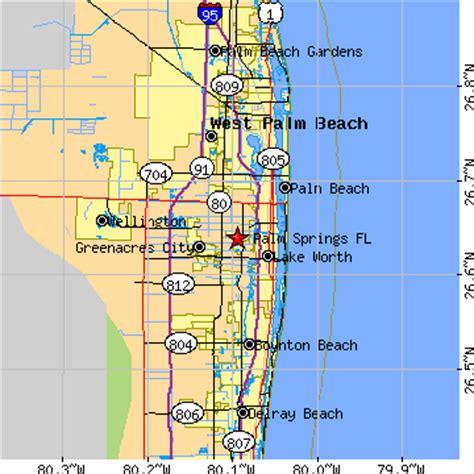 palm springs florida fl population data races