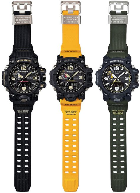 G Shock Gwg List Biru Water Resist casio g shock mudmaster the awesomer