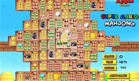 giochi per bambini super mario puzzle colorare giochi super mario mahjong il gioco
