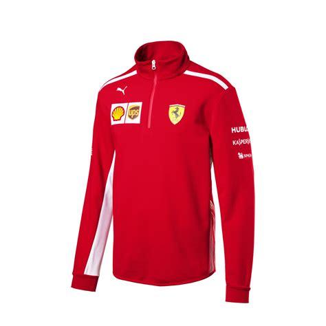 Ferrari Jumper by Men S Team Half Zip Jumper 2018 Scuderia Ferrari