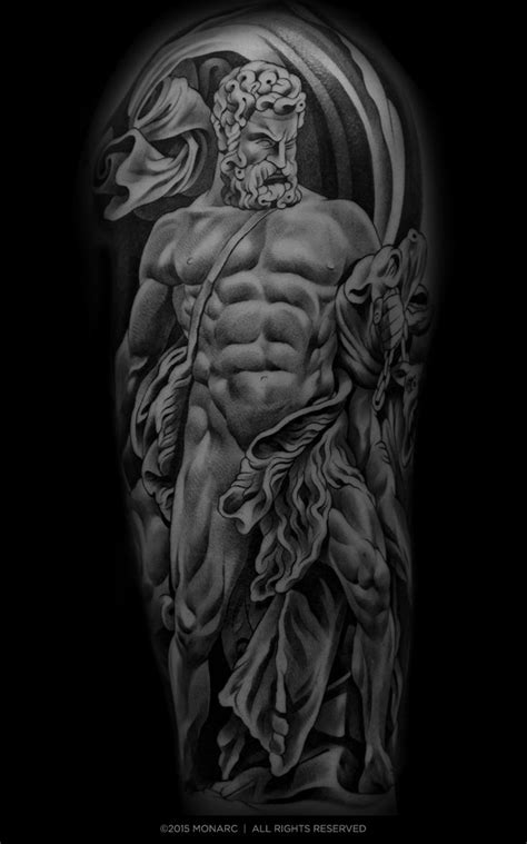 tribal zeus tattoos best 25 zeus ideas on statue