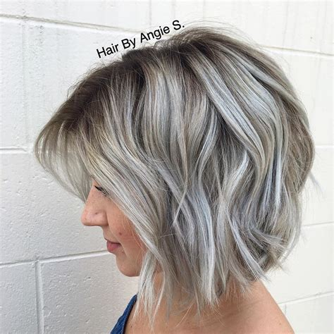 show gray highlights hairstyles for women in their thirties 10 ash blonde frisuren f 252 r alle hautt 246 ne frisuren stil haar