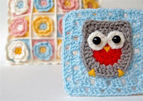 Owl Square dada s place crochet