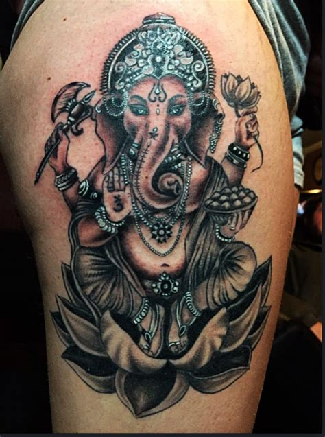 ganesh tattoo meaning ganesh by mello my