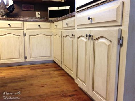 Glazing Painted Kitchen Cabinets Glazing Mdf Versus Real Wood At Home With The Barkers
