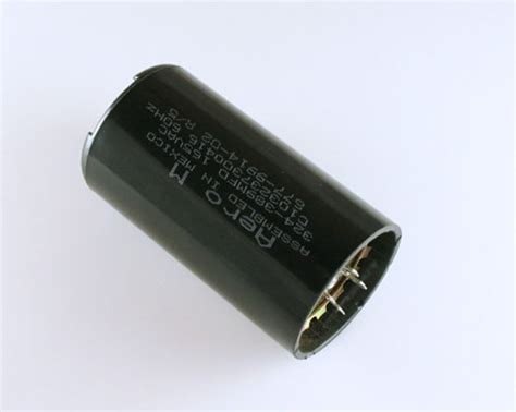 aero m motor start capacitor c103237300416 aero m capacitor 324uf 165v application motor start 2020002981