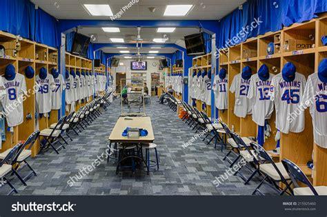 chicago locker room chicago illinois september 8 chicago cubs locker room at wrigley field on september 8 2014