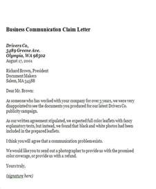 business communication letters 44 business letter exles