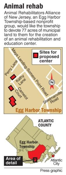 Harbor Detox Employment by Wants Egg Harbor Township Land For Wildlife Rehab