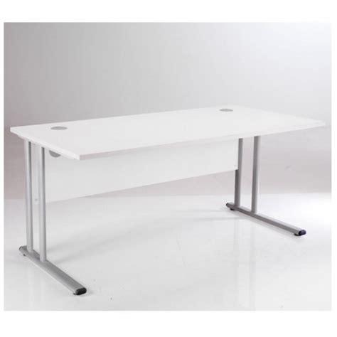 office desk essentials essentials white rectangular desk white office desks uk