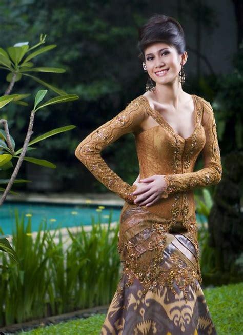 Kebaya Bali Brokat Bali 4 kebaya coklat batik indonesia and kebaya