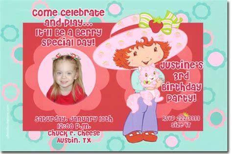 Strawberry Shortcake Baby Shower Invitations by Baby Strawberry Shortcake Baby Shower Invitations