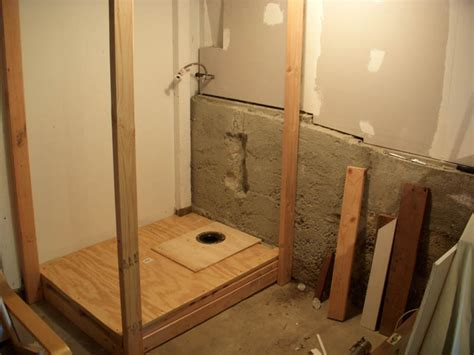putting a bathroom in the basement home design