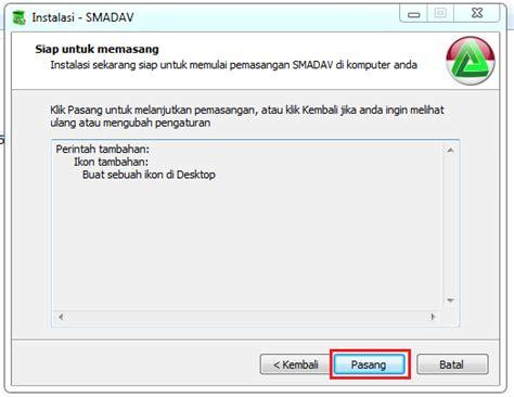 Anti Virus Buat Laptop cara install anti virus smadav dikomputer atau laptop saling berbagi