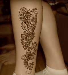 modern henna designs for leg fashion pinterest