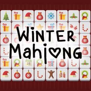 winter mahjong game funnygames.us