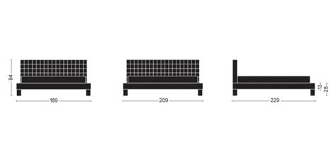 misure dei letti misure dei letti letti a ponte doimo with misure dei
