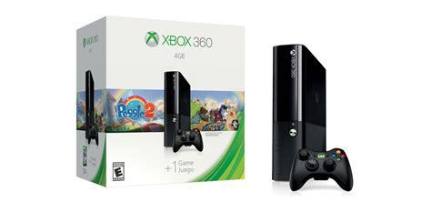 xbox 360 4g console xbox 360 4gb back