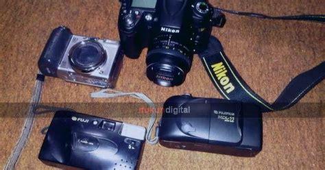 Kamera Fujifilm Mdl 9 kamera jadoel analog 35mm fuji dukun digital