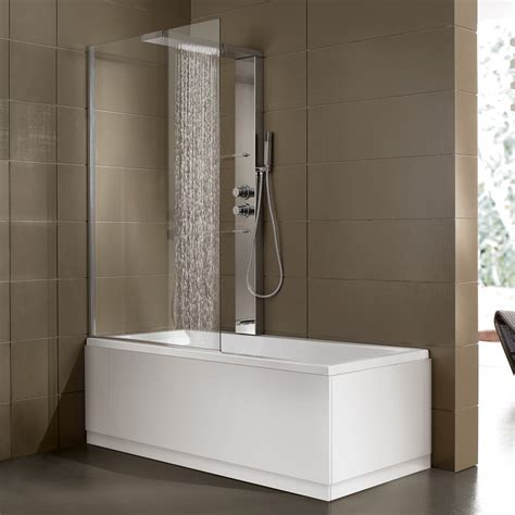 vasca angolare con box doccia bagno quando vasca e doccia diventano un unica soluzione