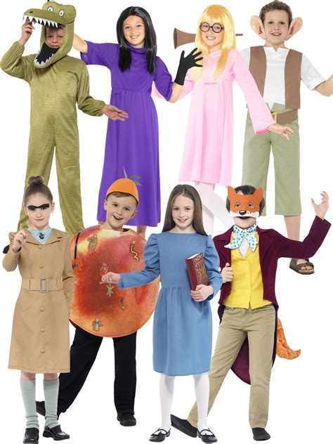 charlie day up kids roald dahl fancy dress up costume world book day week