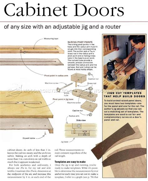 curved cabinets made easy door making jig templates for making louvered doors are