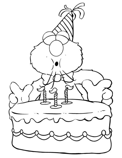 Elmo Coloring Pages Happy Birthday | happy birthday elmo coloring pages coloring home