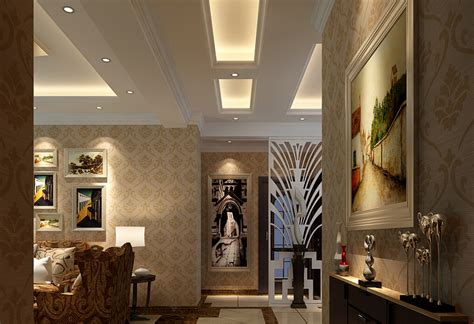 Home Design 3d Ceiling 3d Interior Wallpaper And Suspended Ceiling 3d