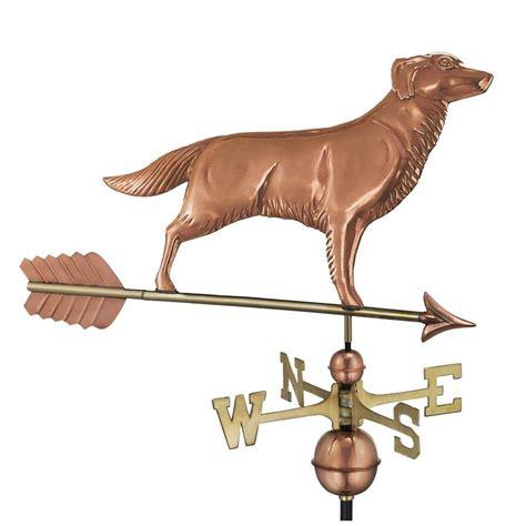 golden retriever weathervane shop directions polished copper golden retriever weathervane at lowes