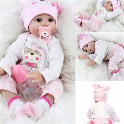reborn doll 22 lifelike newborn silicone vinyl reborn gift baby doll