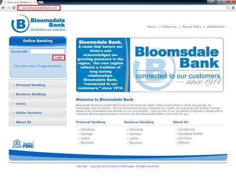 vc bank login bank of bloomsdale banking login banklogindir