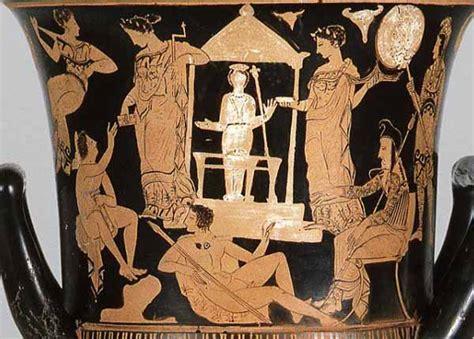 antichi vasi funebri donne e rituali nelle citt 224 della grecia spose e sacerdotesse