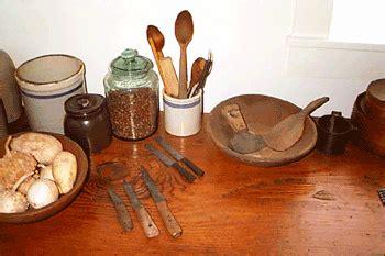 pioneer kitchen utensils 1841 methodist parsonage