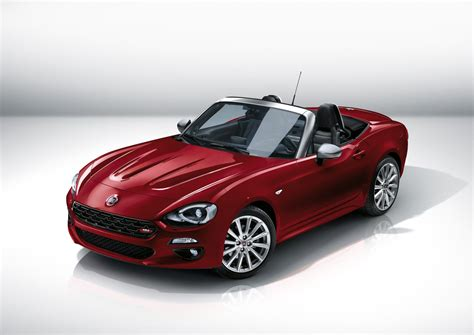 fiat 124 spider details on new italian sports car evo