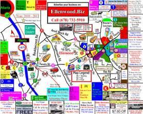 ellenwood map ellenwood ga