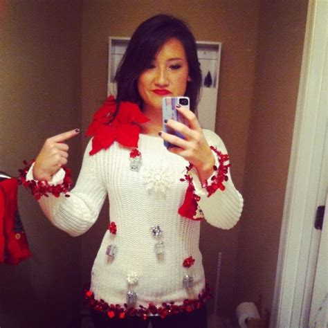 Images Of Ugly Christmas Sweaters Homemade | ugly sweater ideas homemade