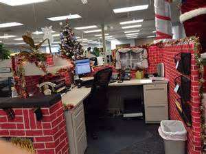 work christmas decorations work christmas cubicle