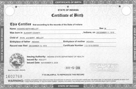 birth certificate template for microsoft word 5 birth certificate templates excel pdf formats