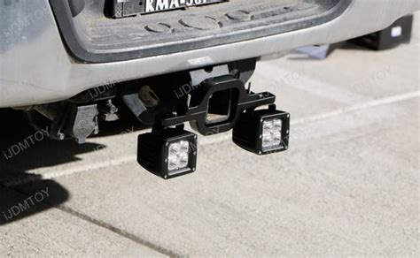 tow hitch mount 40w high power cree led pod backup