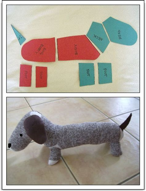 sock tutorial sock monkey style dachshund tutorial patterns patterns and more patterns